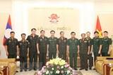 Hợp tác quốc phòng Việt Nam-Lào ngày càng đi vào chiều sâu