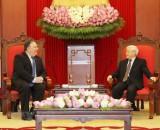 Tổng Bí thư Nguyễn Phú Trọng tiếp Ngoại trưởng Hoa Kỳ Mike Pompeo