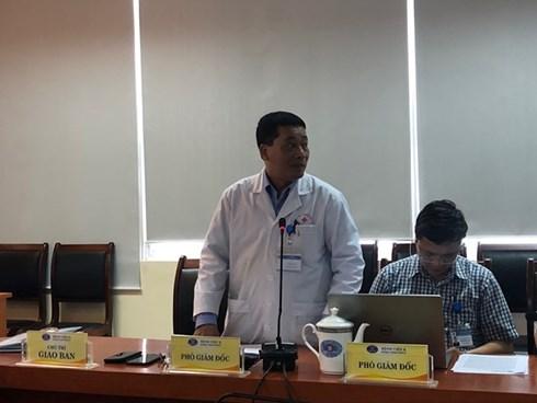 Ban lãnh đạo Bệnh viên K. Ảnh: PV/Zing News
