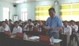 Tân Trụ: Thực hiện đạt và vượt 7/16 chỉ tiêu Nghị quyết Đại hội Đảng bộ huyện lần thứ X