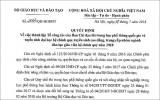 Bộ GD-ĐT lập tổ công tác xác minh nghi vấn điểm thi ở Sơn La, Lạng Sơn