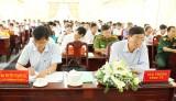 Cần Đước đạt 13/19 chỉ tiêu Nghị quyết Đại hội Đảng bộ huyện khóa XI