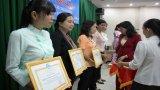 Hội Liên hiệp Phụ nữ Việt Nam tỉnh Long An khen thưởng 5 tập thể, 10 cá nhân