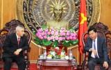 Tổng lãnh sự Indonesia tại TP.HCM chào xã giao lãnh đạo tỉnh Long An