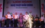 Liên hoan Nghệ thuật quần chúng tỉnh Long An năm 2018: Châu Thành, Bến Lức, Kiến Tường đoạt giải A