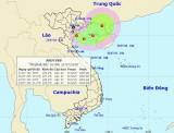 Vùng áp thấp đã mạnh lên thành áp thấp nhiệt đới trên Vịnh Bắc Bộ