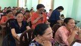 Châu Thành: Đối thoại với hội viên, phụ nữ về bảo vệ môi trường