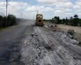 Vẫn còn tình trạng đổ trộm rác công nghiệp trên Đường tỉnh 823C