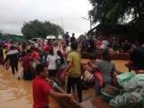 Vỡ đập thủy điện tại Lào khiến hàng trăm người mất tích