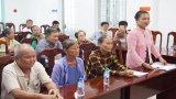 Chủ tịch UBND tỉnh Long An đối thoại với các hộ dân khiếu nại kéo dài huyện Vĩnh Hưng