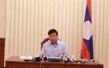 Chính phủ Lào họp báo thông báo tình hình vỡ đập thủy điện ở Nam Lào