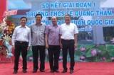 Trường THCS Lê Quang Thẩm phấn đấu đạt chuẩn Quốc gia