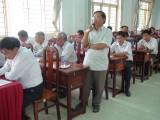 Cử tri Tân Hưng đề nghị sớm thi công Đường tỉnh 819