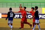 U16 Indonesia - U16 Việt Nam 4-2: Trận cầu kịch tính với 2 thẻ đỏ