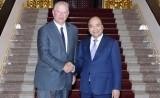 Thủ tướng Nguyễn Xuân Phúc tiếp cựu Phó Tổng thống Hoa Kỳ