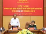Đoàn Kiểm tra Bộ Chính trị làm việc với Ban Thường vụ Quân ủy TW