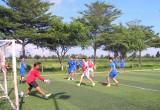 Tân An: Phường 6 tổ chức Giải bóng đá chào mừng Ngày hội TDBVANTQ