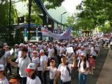 Hơn 5.000 người đi bộ vì nạn nhân da cam và người khuyết tật nghèo