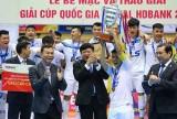 Đổi thời gian và địa điểm tổ chức Giải Futsal Cúp Quốc gia HDBank 2018