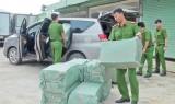 Đức Hòa: Bắt quả tang vụ buôn lậu 12.500 gói thuốc lá ngoại