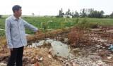 TP.Tân An: Khai thác đất trái phép nơi thực hiện dự án của tỉnh, thành phố