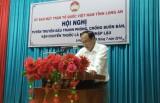 UBMTTQ Việt Nam tỉnh phối hợp tuyên truyền về phòng, chống buôn lậu thuốc lá