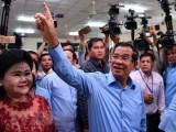 Điện mừng nhân dịp Campuchia tổ chức thành công bầu cử Quốc hội