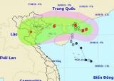 Bão số 4 có gió giật cấp 10 gây nguy hiểm trên Biển Đông