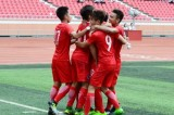 Kết quả ASIAD 2018: Hong Kong thắng 4-0, chiếm ngôi đầu bảng A