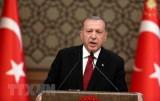Tổng thống Erdogan tiếp tục được bầu làm chủ tịch AKP cầm quyền