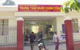 Trung tâm Hành chính công huyện Vĩnh Hưng: Mang đến sự hài lòng cho người dân