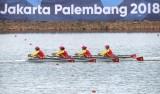 ASIAD 2018: Đội rowing nữ Việt Nam mang về thêm 1 huy chương bạc