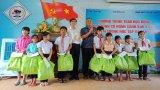Thanh niên Báo Long An giao lưu, làm công tác xã hội tại Tây Nguyên
