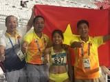 Bùi Thị Thu Thảo mang HCV thứ 2 về cho đoàn thể thao Việt Nam