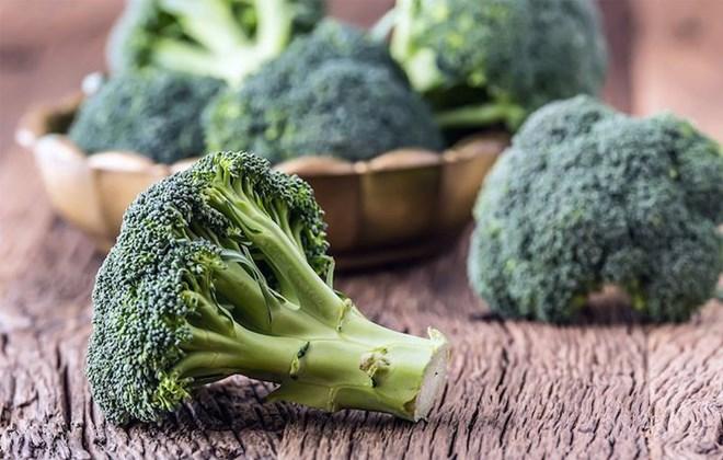 4. Bông cải xanh (2,6gr chất xơ/100gr thực phẩm)