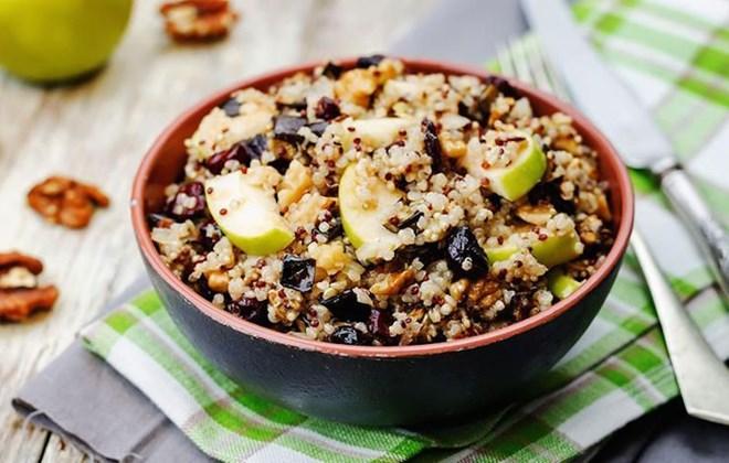 8. Hạt quinoa (2,8gr chất xơ/100gr thực phẩm)