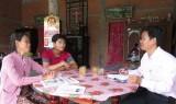 Thủ Thừa: Vốn chính sách giúp sinh viên đến trường