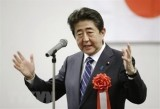 Thủ tướng Shinzo Abe chiếm ưu thế trong các cuộc thăm dò dư luận