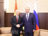 Tổng Bí thư Nguyễn Phú Trọng gửi Điện Cảm ơn Tổng thống Nga