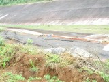 Sụt lún hố bùn đỏ ở nhà máy Alumin Nhân Cơ ngày càng nghiêm trọng
