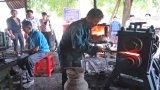 Ứng dụng máy cán thép phục vụ nghề rèn