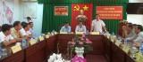 Huyện Tam Dương, tỉnh Vĩnh Phúc giao lưu, trao đổi kinh nghiệm tại Đức Hòa