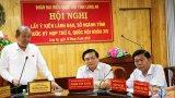 Phó Thủ tướng Thường trực Chính phủ tiếp xúc cử tri Long An trước kỳ họp thứ 6