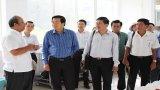 Bí thư Tỉnh ủy Long An – Phạm Văn Rạnh làm việc với Công ty Cổ phần Nghiên cứu bảo tồn và Phát triển dược liệu Đồng Tháp Mười