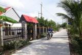 Nhơn Hòa Lập tập trung xây dựng nông thôn mới