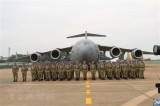 Lễ xuất quân của lực lượng gìn giữ hòa bình Việt Nam tới Nam Sudan