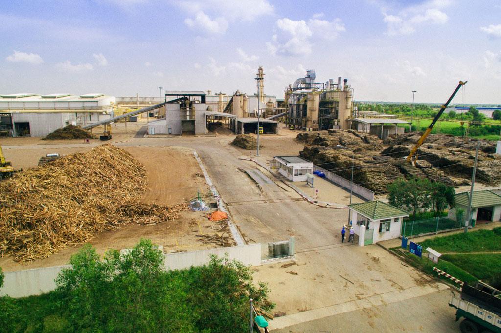 Hoạt động sản xuất của doanh nghiệp trong Khu công nghiệp Phú An Thạnh