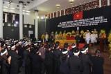 Những hình ảnh xúc động tại lễ truy điệu nguyên Tổng Bí thư Đỗ Mười