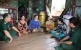 Hưng Điền A góp phần xây dựng biên giới hòa bình, hữu nghị, hợp tác và phát triển