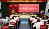 Tập trung thực hiện thắng lợi Nghị quyết Đại hội Đảng bộ tỉnh lần thứ X